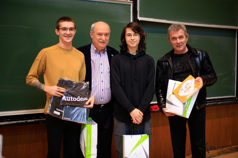 Premianții la concursul de Inventor